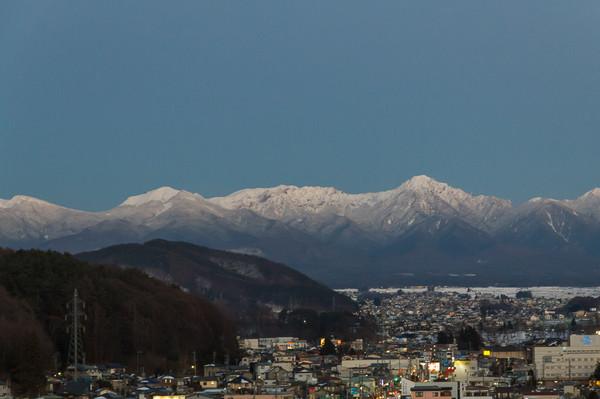 八ヶ岳雪少ない